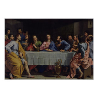 The Last Supper, 1648 Poster