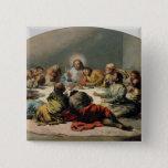 The Last Supper, 1796-97 15 Cm Square Badge