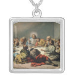 The Last Supper, 1796-97 Silver Plated Necklace