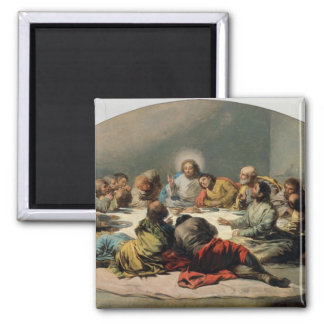 The Last Supper, 1796-97 Square Magnet