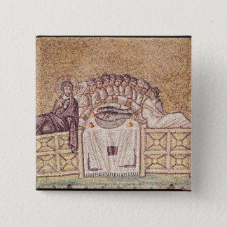 The Last Supper 2 15 Cm Square Badge