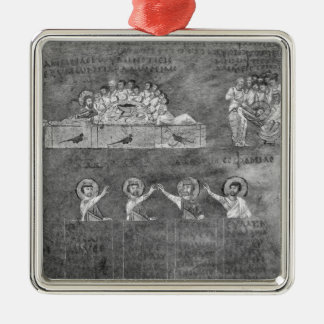 The Last Supper 2 Christmas Ornament