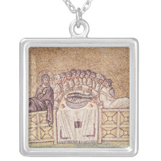 The Last Supper 2 Silver Plated Necklace