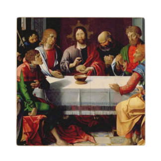 The Last Supper 2 Wood Coaster