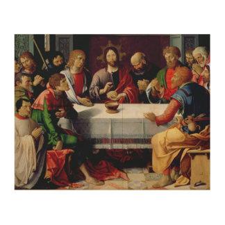 The Last Supper 2 Wood Print