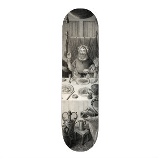 The Last Supper 3 of 5 Custom Skateboard