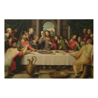 The Last Supper 5 Wood Canvases