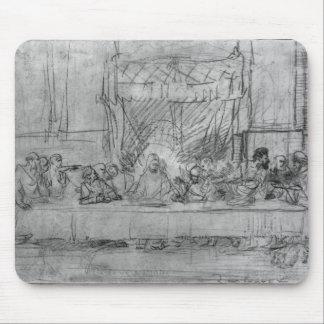 The Last Supper, after fresco by Leonardo da Mouse Mat