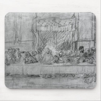 The Last Supper, after fresco by Leonardo da Mouse Pad