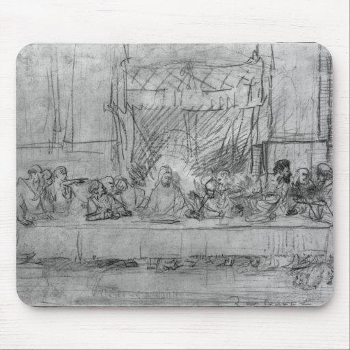 The Last Supper, after fresco by Leonardo da Mousepad