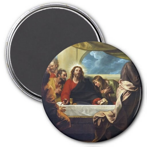 The Last Supper by Benjamin West Magnet