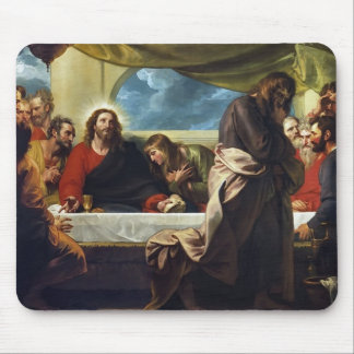 The Last Supper by Benjamin West Mousepads