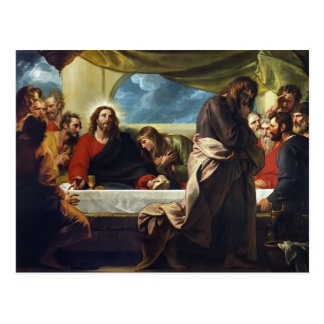 The Last Supper by Benjamin West Post Cards