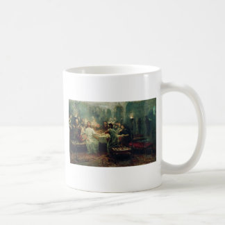 The Last Supper by Ilya Repin Basic White Mug