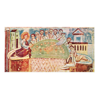 The Last Supper By Italo-Byzantinischer Meister (B Card