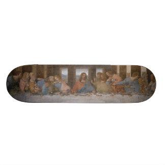 The Last Supper by Leonardo da Vinci 19.7 Cm Skateboard Deck