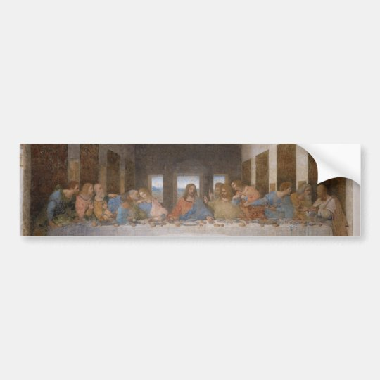 The Last Supper by Leonardo Da Vinci Bumper Sticker