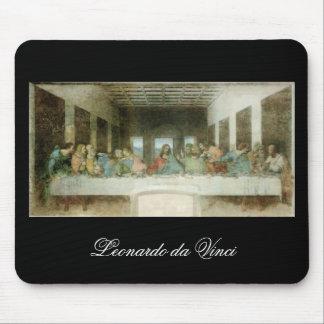 The Last Supper by Leonardo Da Vinci c. 1495-1498 Mouse Pad