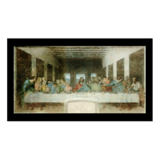 The Last Supper by Leonardo Da Vinci c. 1495-1498 Pack Of Standard Business Cards