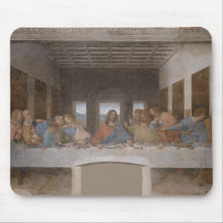 The Last Supper by Leonardo da Vinci Mouse Mat