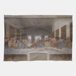 The Last Supper by Leonardo da Vinci Tea Towel
