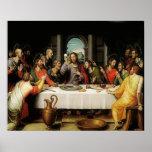 The Last Supper - La Ultima Cena - First Eucharist Poster