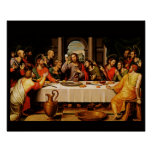 The Last Supper - La Ultima Cena Poster A