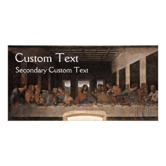 The Last Supper Personalised Photo Card