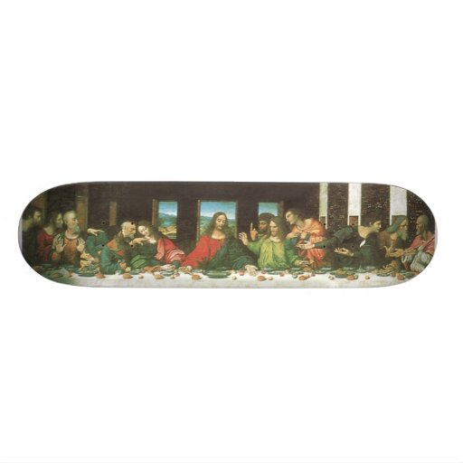 The Last Supper Skate Boards