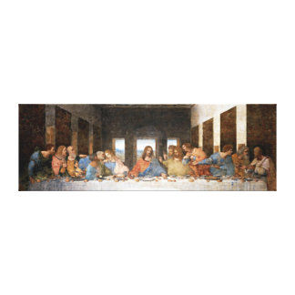 The Last Supper Stretched Canvas Print