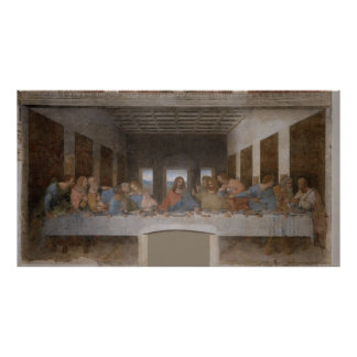 The Last Supper Última Cena by Leonardo da Vinci Poster