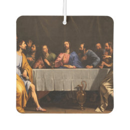 Easter monday gifts gift ideas zazzle uk the last supper with disciples car air freshener negle Images