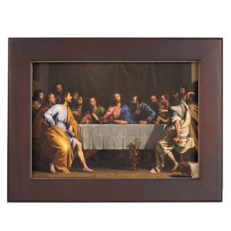 The Last Supper with Disciples Keepsake Boxes