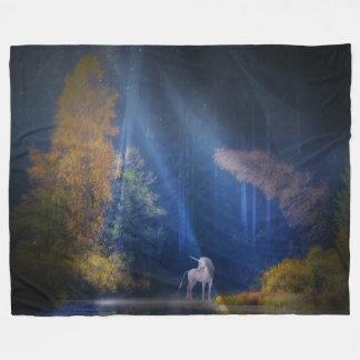 The Last Unicorn Fleece Blanket