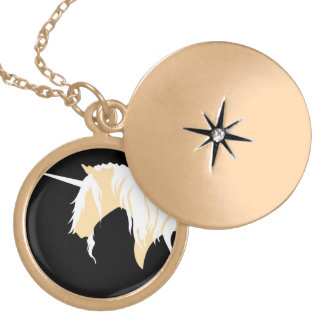 The Last Unicorn Locket