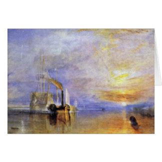 The Last Voyage Of The Fighting Temeraire By Greeting Card