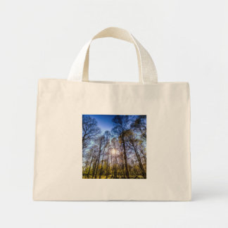 The Late Afternoon Forest Mini Tote Bag