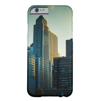 The late afternoon sun casts a golden glow on barely there iPhone 6 case