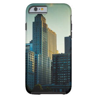 The late afternoon sun casts a golden glow on tough iPhone 6 case