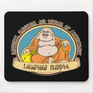 The Laughing Buddha Mouse Mat