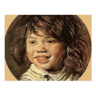 The Laughing Child   by Frans Hals Postcard