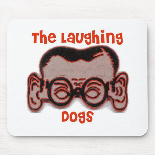The Laughing Dogs Joe Head Mouse Mat