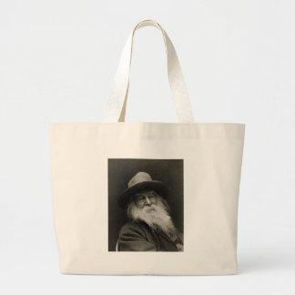 The Laughing Philosopher Poet Walt Whitman Bag