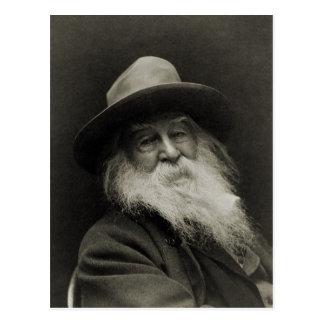 The Laughing Philosopher Poet Walt Whitman Postcard