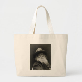 The Laughing Philosopher Poet Walt Whitman Jumbo Tote Bag