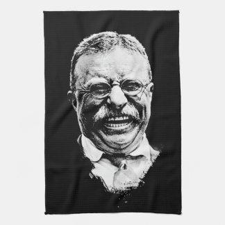 The Laughing Teddy Tea Towel