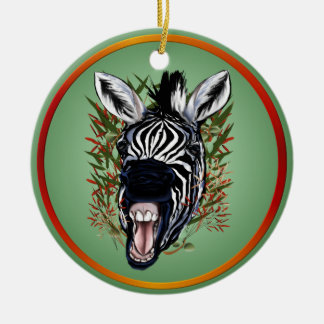 The Laughing Zebra Ornaments