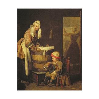 The Laundress Canvas Print