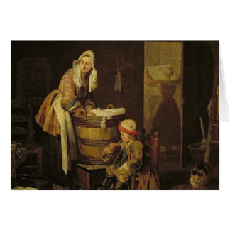 The Laundress Greeting Card