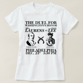 The Laurens-Lee Duel T-Shirt